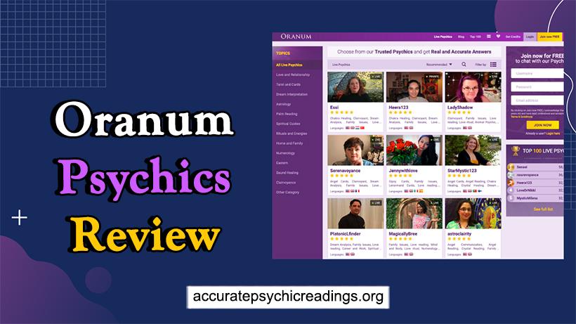 Oranum Psychics Review
